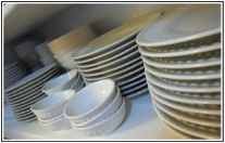 dish 和 plate 有什麼不同?