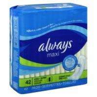 「衛生棉」的英文怎麼說?