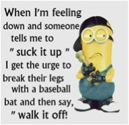 好用句:Walk it off.